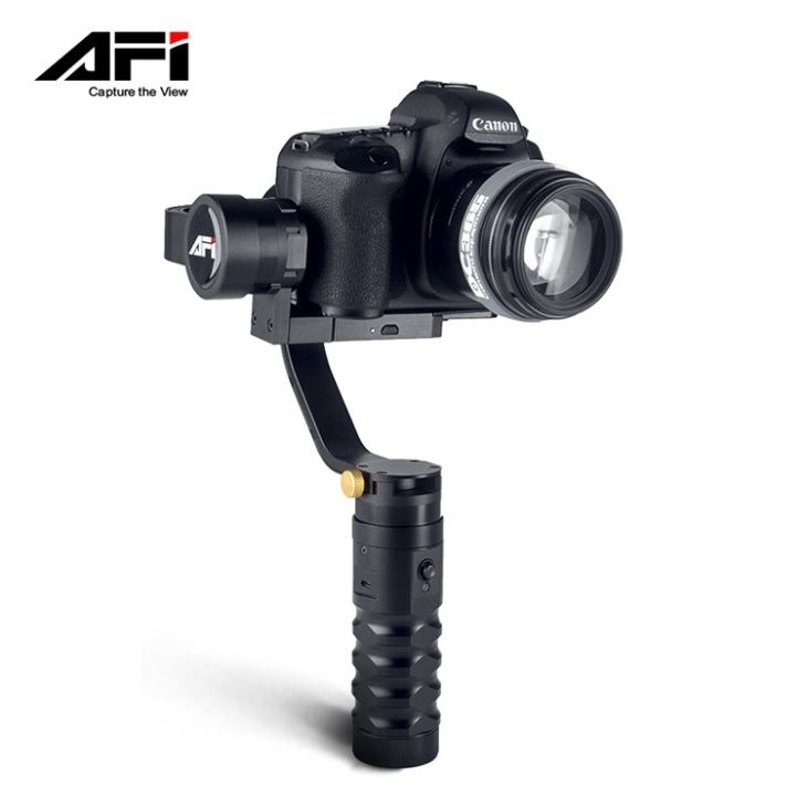 3-Axis Brushless Professional Video Hand-held Motorized Gimbals for DSLR Camera AFI VS-3SD PRO