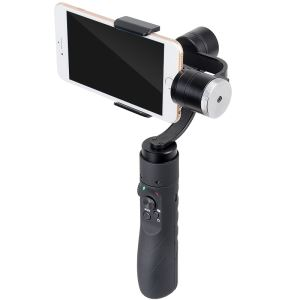 AFI V3 3 Axis Mobile Phone Gimbal Stabilizer Works With IOS & Android Smartphones, Advanced APP + 1 Year Warranty