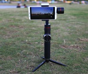 AFI V5 Motorized Rechargeable 3-Axis Smartphone Stabilizing Handheld Gimbal For Smooth, Steady Digital Photography